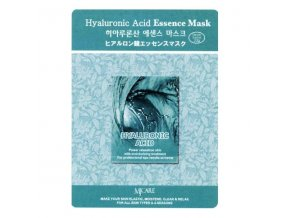 MJ Care - kyselina HYALURONOVÁ - luxusní látková pleťová maska pro všechny typy pleti 23 g