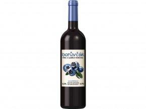 Borůvčák - víno z lesních borůvek 750 ml
