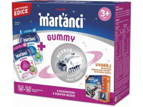 Marťánci Gummy 50+50 tablet+ Kosmobrouk jako dárek