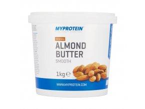 MyProtein Mandlové máslo smooth (jemné) 1000 g DMT: 02.2019