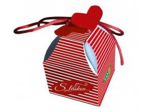 Liran S láskou Valentýnský čaj pruhované balení 2 g