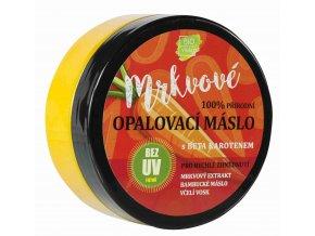 Vivaco 100% přírodní mrkvové opalovací máslo bez UV filtrů 150 ml
