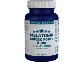 Pharma Activ Melatonin 5 mg Sníček FORTE 100 tbl.