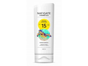 Nafigate Organic Sunscreen SPF15 200 ml