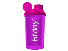 Fit-day Shaker růžový 600 ml
