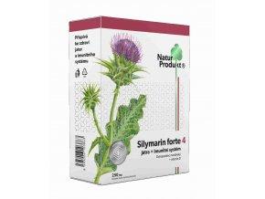 Naturprodukt Silymarin Forte 4 - Játra + Imunitní systém 40 tbl.