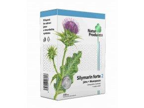 Naturprodukt Silymarin Forte 2 - Játra + Menopauza 40 tbl.