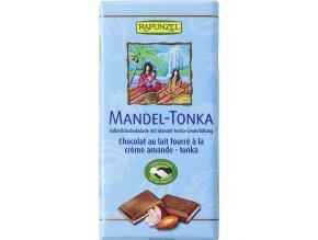Rapunzel BIO Mléčná čokoláda mandle Tonka 100 g