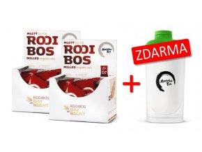 Rooibos 2x+šejkr z500 ZDARMA