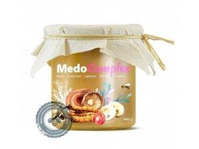 Mycomedica MedoComplex - reishi, cordyceps, agaricus, shiitake a acerola v medu 400 g