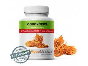 MycoMedica Cordyceps 50 % 90 kapslí