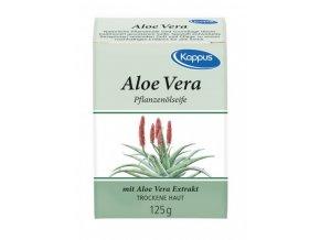 Kappus Přírodní olejové mýdlo Aloe 125 g
