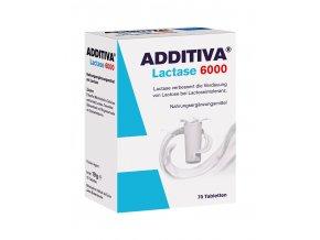 Additiva Lactase 6000 70 tbl. DMT: 01.10.2020