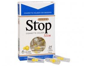 stopfiltr na cigarety slim 25 ks 14344187