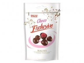 POEX Maliny v hořké čokoládě 400 g