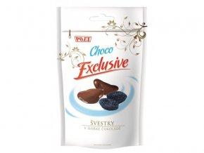 POEX Švestky v hořké čokoládě 500 g