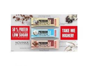 Nutrend Premium Protein 50% Bar 50 g