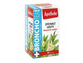 Apotheke Bronchotea čaj 20 x 1,5 g