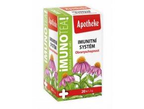 Apotheke Imunotea čaj 20 x 1,5 g