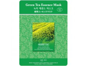 pletova maska mjcare green tea essence mask