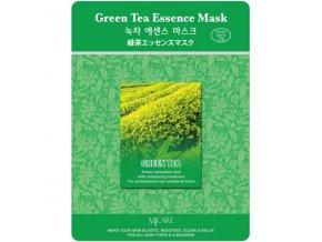 pletova maska mjcare green tea essence mask