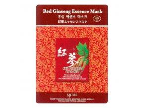 pletova maska mjcare red ginseng essence mask