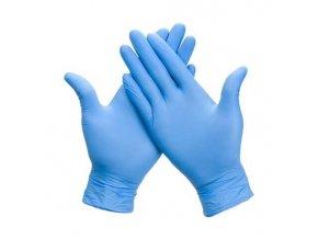 pharma activ rukavice syntetic modre bez pudru l jednorazove 100 ks