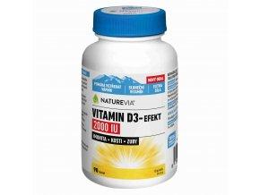 Naturevia Vitamín D3-Effekt 2000 IU 90 tbl.