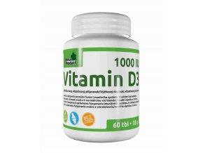 Naturprodukt Vitamín D3 1000 IU 60 tbl.