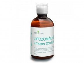 Bornature Lipozomální Vitamin D3+K2 300 ml