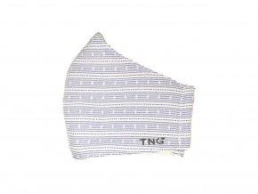 TNG Antibakteriální obličejová rouška z NANO materiálu, vzor, velikost S 1 ks