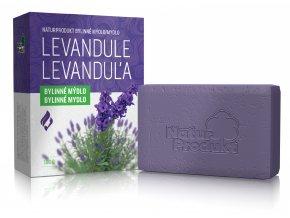 Naturprodukt bylinné mýdlo LEVANDULE 100 g
