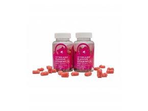 ivy bears vlasove vitaminy pro zeny 2 kusy usetrite 45 kc