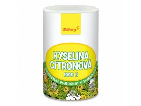 kyselina citronova wolfberry 1000 g