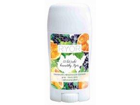 Ryor Deodorant s 48hodinovým účinkem a vůní grepu a černého rybízu 50 ml