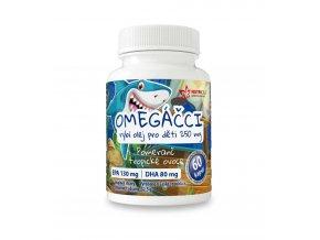 Nutricius Omegáčci - Rybí olej pro děti 250mg 60 kapslí