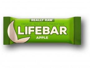 Lifefood BIO Lifebar tyčinka  jablečná 47 g DMT: 01.09.2021
