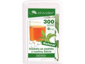 ZdravýDen® Stévie tablety 300 tbl. DMT: 22.07.2021