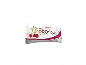 Nutrend Profigur Müsli tyčinka polozalitá 33 g - Višeň s jogurtovou polevou DMT: 21.09.2021