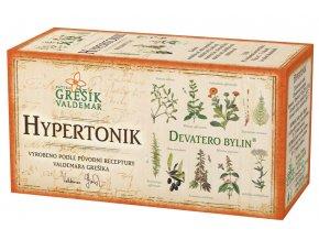 Grešík Hypertonik čaj n.s. 20x1.5g Devatero bylin DMT: 23.10.2021