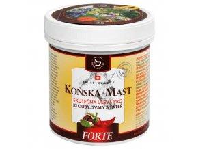 Herbamedicus Koňská mast FORTE hřejivá 250 ml