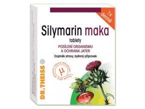 Naturprodukt Silymarin maka - 100 mg silymarinu 40 tbl.