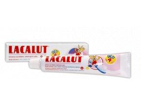 Lacalut dětská zubní pasta pro děti od 0 do 4 let 50 ml