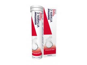 Additiva Vitamin C Blutorange 20 tbl.