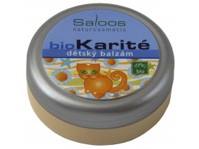 Saloos Bio Karité balzám - Dětský