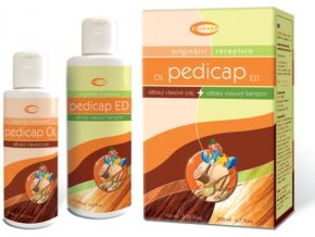 Topvet Pedicap OL vlasový olej 100 ml+ ED vlasový šampon 200 ml
