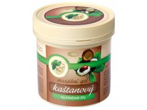 Topvet Kaštanový masážní gel na křečové žíly 250 ml