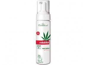 Cannaderm Robátko mycí pěna Sensitive 200 ml 200 ml