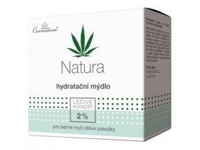Cannaderm Hydratační mýdlo Natura 100 g