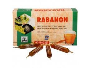 Bio Rabanon - 100% šťáva z černé ředkve 20x10 ml